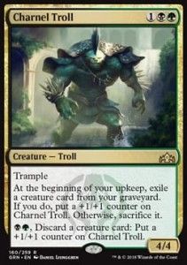 Charnel Troll (Guilds of Ravnica)