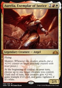 Aurelia, Exemplar of Justice (Guilds of Ravnica)