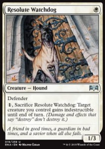 Resolute Watchdog (Ravnica Allegiance)