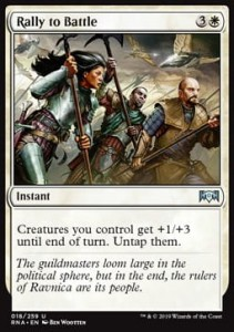 Rally to Battle (Ravnica Allegiance)