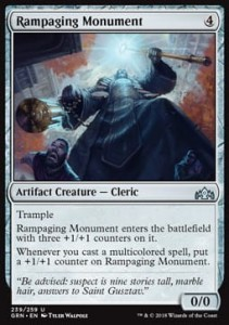 Rampaging Monument (Guilds of Ravnica)