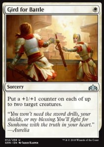 Gird for Battle (Guilds of Ravnica)