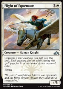 Flight of Equenauts (Guilds of Ravnica)