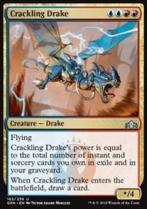 Crackling Drake (Guilds of Ravnica)