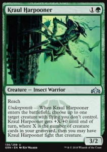 Kraul Harpooner (Guilds of Ravnica)