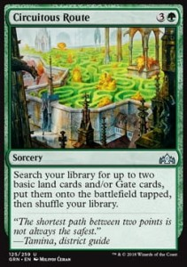 Circuitous Route (Guilds of Ravnica)
