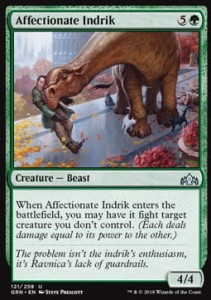 Affectionate Indrik (Guilds of Ravnica)