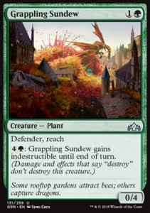 Grappling Sundew (Guilds of Ravnica)