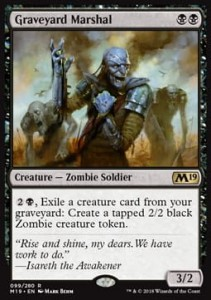 Graveyard Marshal (M19 Core Set)
