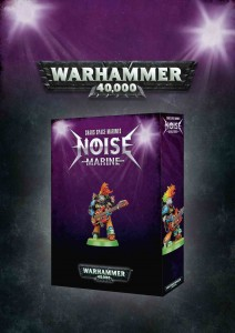 Chaos Space Marines - Noise Marine - WH 40K