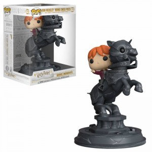 Funko POP - Harry Potter - Ron Weasley riding Chess Piece # 82