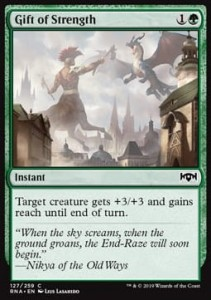 Gift of Strength (Ravnica Allegiance)