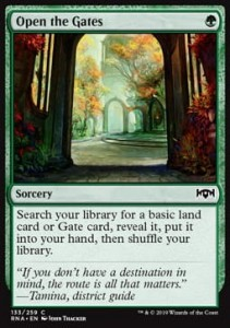 Open the Gates (Ravnica Allegiance)