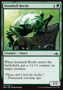 Ironshell Beetle (Guilds of Ravnica)