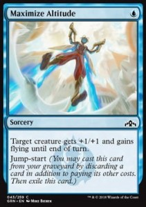 Maximize Altitude (Guilds of Ravnica)