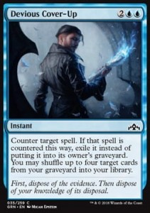 Devious Cover-Up (Guilds of Ravnica)