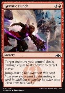 Gravitic Punch (Guilds of Ravnica)