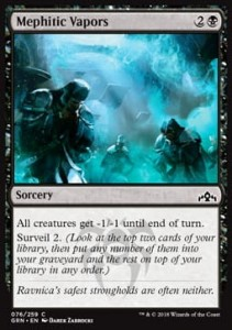 Mephitic Vapors (Guilds of Ravnica)