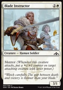 Blade Instructor (Guilds of Ravnica)