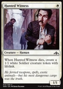Hunted Witness (Guilds of Ravnica)