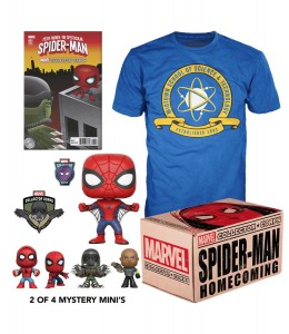 Funko POP Marvel Collector Corps - Spider-Man Homecoming