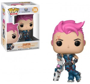 Funko POP Overwatch - Zarya # 306