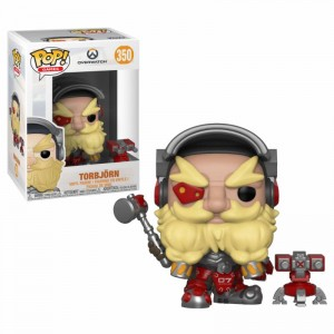 Funko POP Overwatch - Torbjorn # 350