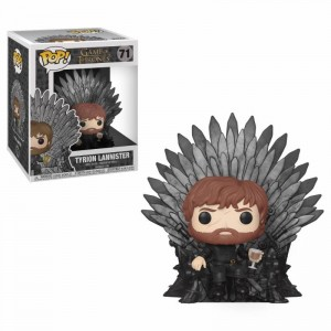 Funko POP - Gra o Tron - Tyrion Lannister Sitting on Iron Throne # 71