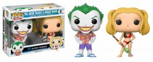 Funko POP DC Joker (Beach) and Harley Quinn 2 Pack - Exclusive