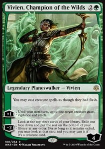 Vivien, Champion of the Wilds (War of the Spark)