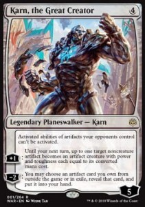 Karn, the Great Creator (War of the Spark)