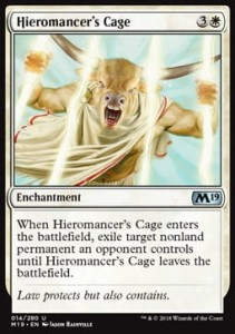 Hieromancer's Cage (M19 Core Set)