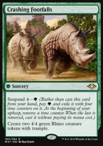 Crashing Footfalls (Modern Horizons)
