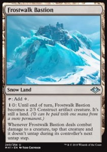 Frostwalk Bastion (Modern Horizons)