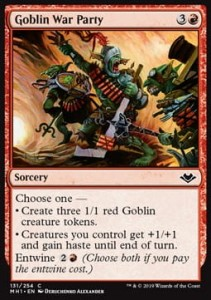 Goblin War Party (Modern Horizons)
