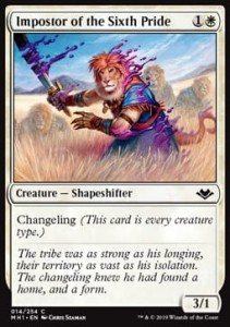 Impostor of the Sixth Pride (Modern Horizons)