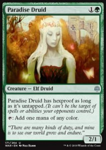 Paradise Druid (War of the Spark)