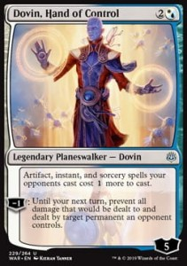 Dovin, Hand of Control (War of the Spark)