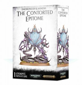 Daemons of Slaanesh - The Contorted Epitome - AoS / WH 40K