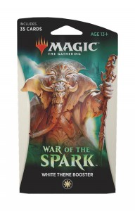 War of the Spark - White Theme Booster