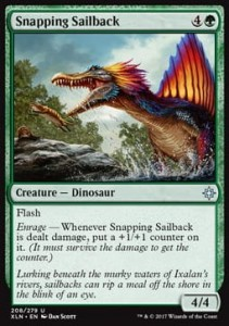 Snapping Sailback (Ixalan)