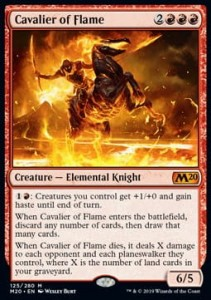 Cavalier of Flame (M20)