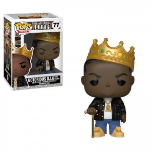 Funko POP Notorious B.I.G. with Crown # 77