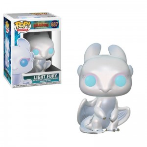 Funko POP How to Train Your Dragon - Light Fury # 687