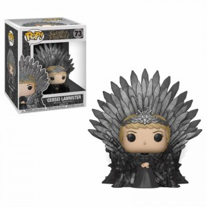 Funko POP - Gra o Tron - Cersei Lannister Sitting on Iron Throne # 73