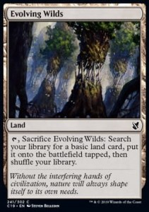 Evolving Wilds (Commander 2019)