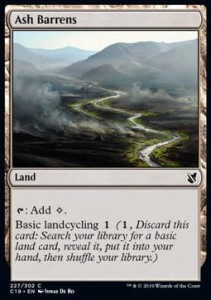 Ash Barrens (Commander 2019)