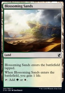 Blossoming Sands (Commander 2019)