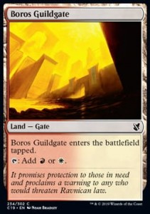 Boros Guildgate (Commander 2019)