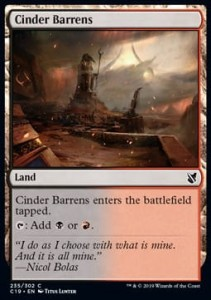 Cinder Barrens (Commander 2019)